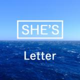 【楽譜】Letter(CMサイズ) / SHE'S